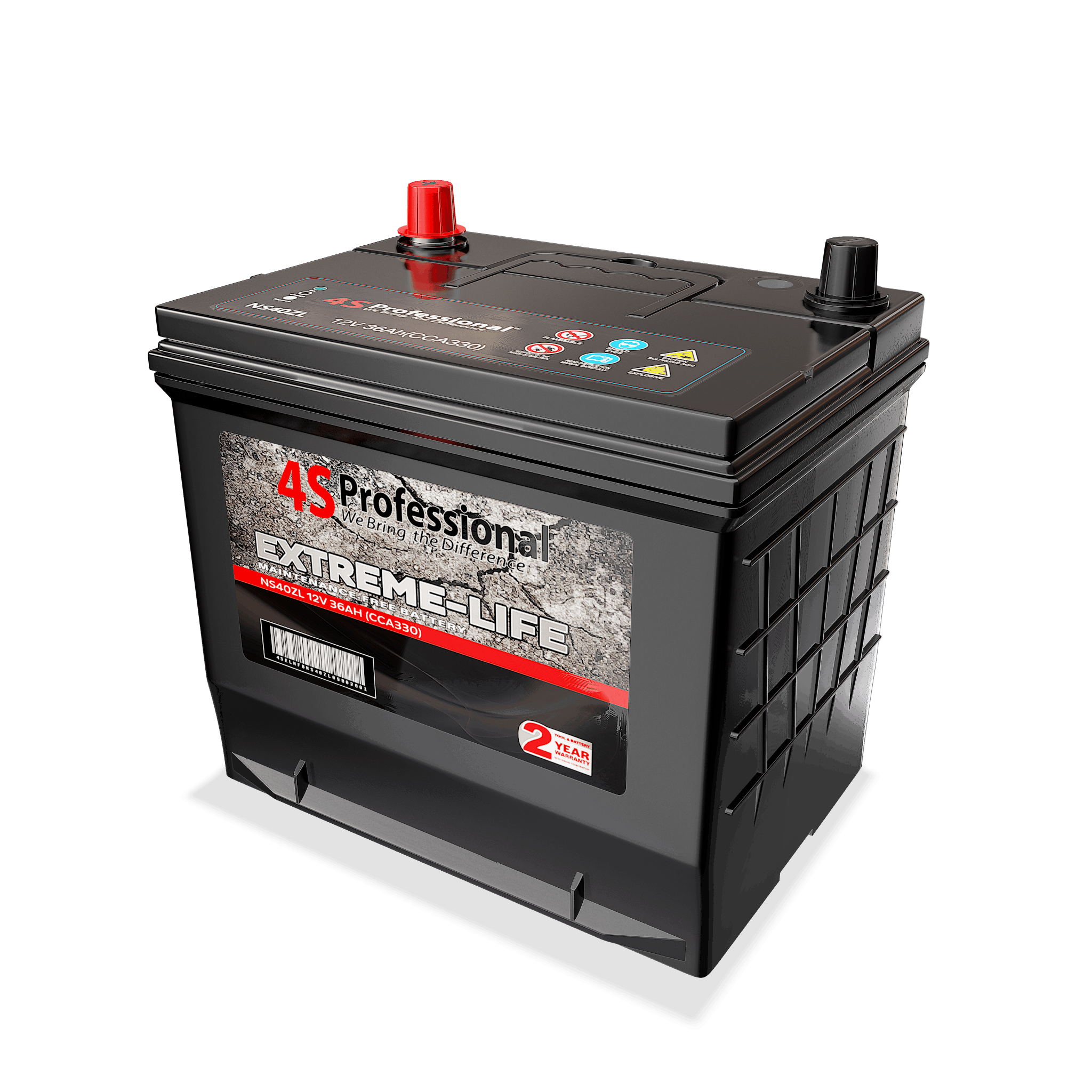 NS60R (46B24R) Extreme-Life Series Car Battery