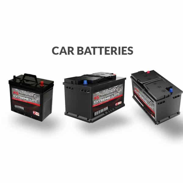 Car battery line up